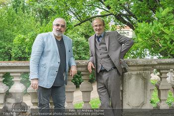 Harald Schmidt und Michael Niavarani - Theater im Park am Belvedere, Wien - Fr 21.05.2021 - Michael NIAVARANI, Georg HOANZL15