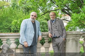 Harald Schmidt und Michael Niavarani - Theater im Park am Belvedere, Wien - Fr 21.05.2021 - Michael NIAVARANI, Georg HOANZL16