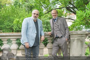 Harald Schmidt und Michael Niavarani - Theater im Park am Belvedere, Wien - Fr 21.05.2021 - Michael NIAVARANI, Georg HOANZL17