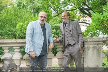 Harald Schmidt und Michael Niavarani - Theater im Park am Belvedere, Wien - Fr 21.05.2021 - Michael NIAVARANI, Georg HOANZL18