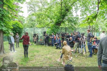 Harald Schmidt und Michael Niavarani - Theater im Park am Belvedere, Wien - Fr 21.05.2021 - Presse, Journalisten, Medien, Kameras31