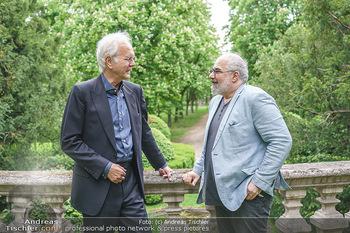 Harald Schmidt und Michael Niavarani - Theater im Park am Belvedere, Wien - Fr 21.05.2021 - Harald SCHMIDT, Michael NIAVARANI45