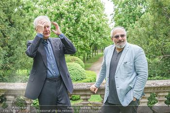 Harald Schmidt und Michael Niavarani - Theater im Park am Belvedere, Wien - Fr 21.05.2021 - Harald SCHMIDT, Michael NIAVARANI46
