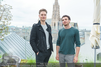 King & Potter Fototermin - Skybar, Wien - Do 27.05.2021 - KING & POTTER (Benjamin KÖNIG, Martin HAFNER)3