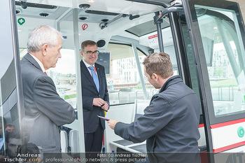 Selbstfahrender Autobus - Seestadt Aspern, Wien - Do 27.05.2021 - 18