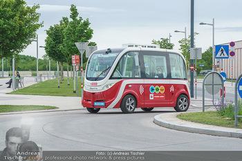 Selbstfahrender Autobus - Seestadt Aspern, Wien - Do 27.05.2021 - Selbstfahrender Bus in der Seestadt20