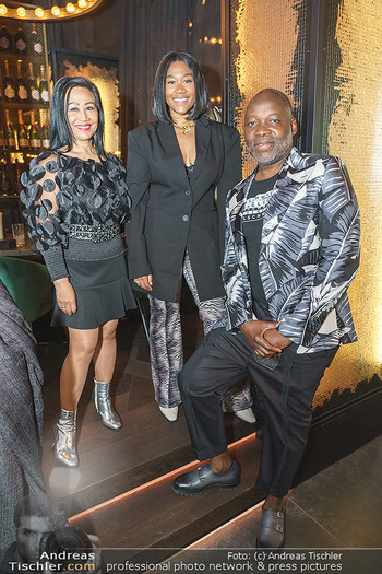 DaRose Vienna Opening - DaRose Restaurant, Wien - Do 27.05.2021 - Familie Rose ALABA mit Eltern George und Gina ALABA25