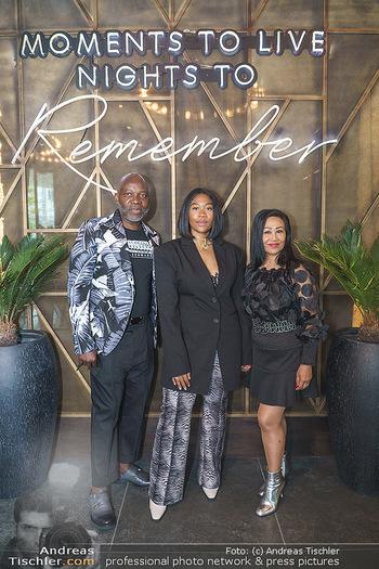 DaRose Vienna Opening - DaRose Restaurant, Wien - Do 27.05.2021 - Familie Rose ALABA mit Eltern George und Gina ALABA33