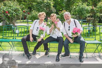 Ladies Night Promo-Aktion - Burgtheater, Volksgarten - Fr 28.05.2021 - Martin BERMOSER, Christoph VON FRIEDL, Werner BRIX49