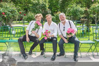 Ladies Night Promo-Aktion - Burgtheater, Volksgarten - Fr 28.05.2021 - Martin BERMOSER, Christoph VON FRIEDL, Werner BRIX50