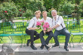 Ladies Night Promo-Aktion - Burgtheater, Volksgarten - Fr 28.05.2021 - Martin BERMOSER, Christoph VON FRIEDL, Werner BRIX51