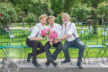 Ladies Night Promo-Aktion - Burgtheater, Volksgarten - Fr 28.05.2021 - Martin BERMOSER, Christoph VON FRIEDL, Werner BRIX52