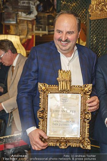 Verleihung Goldener Spargel - Marchfelderhof - Mo 31.05.2021 - Johann LAFER9