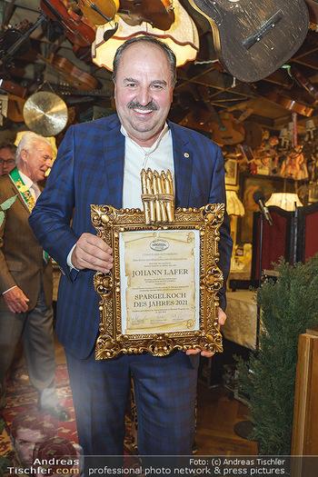 Verleihung Goldener Spargel - Marchfelderhof - Mo 31.05.2021 - Johann LAFER14