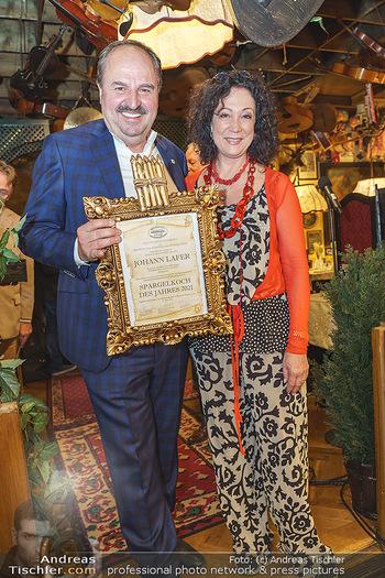 Verleihung Goldener Spargel - Marchfelderhof - Mo 31.05.2021 - Johann LAFER, Barbara WUSSOW15