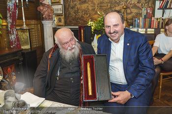 Verleihung Goldener Spargel - Marchfelderhof - Mo 31.05.2021 - Hermann NITSCH, Johann LAFER29