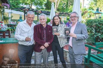 Buchpräsentation Mucha & Sommer - Schreiberhaus - Di 01.06.2021 - Poldi HUBER, Christian MUCHA, Ilse HELMREICH, Robert Bobby SOMME4