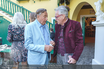 Buchpräsentation Mucha & Sommer - Schreiberhaus - Di 01.06.2021 - Richard LUGNER, Christian MUCHA34