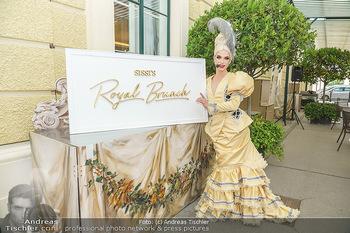 Sissi´s Royal Brunch - Cafe Schönbrunn, Wien - So 06.06.2021 - Tamara MASCARA2