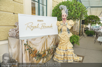 Sissi´s Royal Brunch - Cafe Schönbrunn, Wien - So 06.06.2021 - Tamara MASCARA3