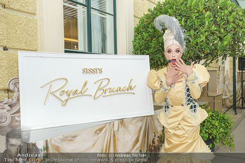 Sissi´s Royal Brunch - Cafe Schönbrunn, Wien - So 06.06.2021 - Tamara MASCARA4