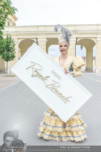 Sissi´s Royal Brunch - Cafe Schönbrunn, Wien - So 06.06.2021 - Tamara MASCARA5
