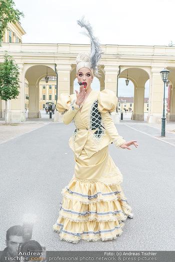 Sissi´s Royal Brunch - Cafe Schönbrunn, Wien - So 06.06.2021 - Tamara MASCARA6