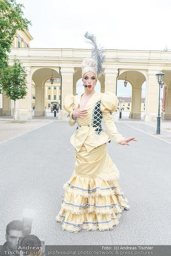 Sissi´s Royal Brunch - Cafe Schönbrunn, Wien - So 06.06.2021 - Tamara MASCARA7