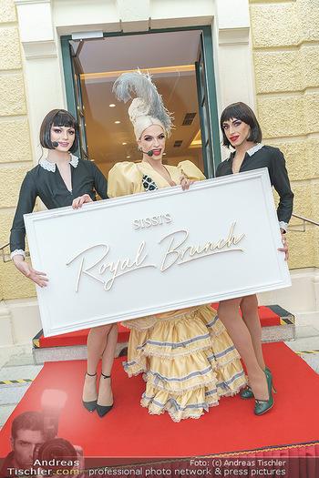 Sissi´s Royal Brunch - Cafe Schönbrunn, Wien - So 06.06.2021 - Tamara MASCARA10