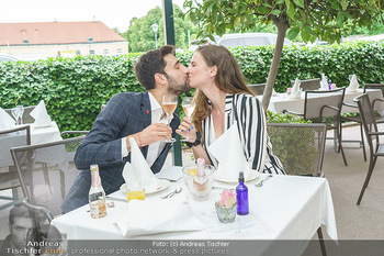 Sissi´s Royal Brunch - Cafe Schönbrunn, Wien - So 06.06.2021 - Dimitar STEFANIN mit Freundin Johanna WEINSTICH18