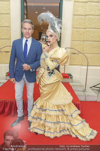 Sissi´s Royal Brunch - Cafe Schönbrunn, Wien - So 06.06.2021 - Alfons HAIDER, Tamara MASCARA19