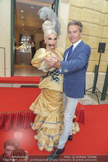 Sissi´s Royal Brunch - Cafe Schönbrunn, Wien - So 06.06.2021 - Alfons HAIDER, Tamara MASCARA20