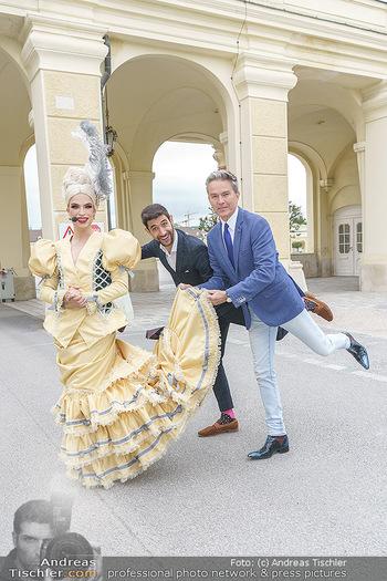 Sissi´s Royal Brunch - Cafe Schönbrunn, Wien - So 06.06.2021 - Alfons HAIDER, Tamara MASCARA, Dimitar STEFANIN22