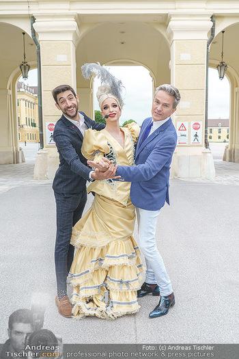 Sissi´s Royal Brunch - Cafe Schönbrunn, Wien - So 06.06.2021 - Alfons HAIDER, Tamara MASCARA, Dimitar STEFANIN25