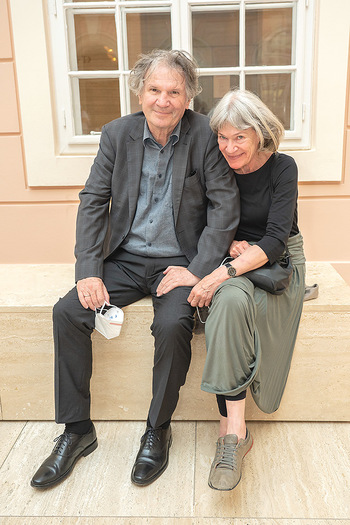 Xenia Hausner Empfang - Albertina, Wien - Di 08.06.2021 - Friedrich ORTER, Joanna RAZINER7