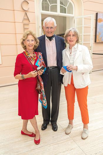 Xenia Hausner Empfang - Albertina, Wien - Di 08.06.2021 - Friedrich ORTER, Joanna RAZINER, Xenia HAUSNER8