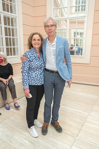 Xenia Hausner Empfang - Albertina, Wien - Di 08.06.2021 - 10