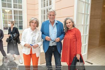 Xenia Hausner Empfang - Albertina, Wien - Di 08.06.2021 - Xenia HAUSNER, Brigitte KARNER, Peter SIMONISCHEK11
