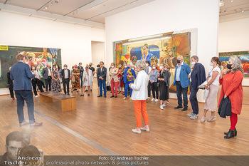 Xenia Hausner Empfang - Albertina, Wien - Di 08.06.2021 - 23