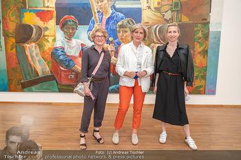 Xenia Hausner Empfang - Albertina, Wien - Di 08.06.2021 - Schwestern Jessica, Tanja und Xenia HAUSNER37
