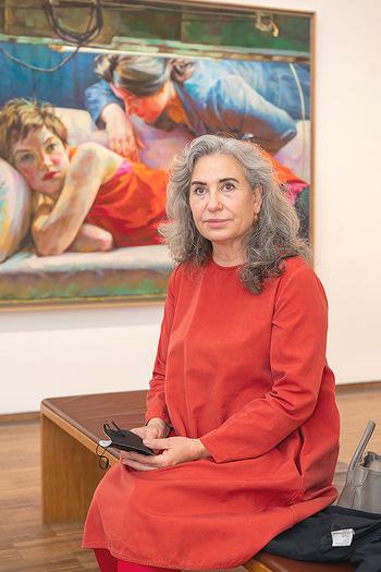 Xenia Hausner Empfang - Albertina, Wien - Di 08.06.2021 - Brigitte KARNER38