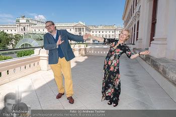 Bergauf mit Cultour - Albertina, Wien - Do 10.06.2021 - Michael SCHADE, Ildiko RAIMONDI17