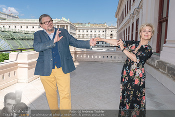 Bergauf mit Cultour - Albertina, Wien - Do 10.06.2021 - Michael SCHADE, Ildiko RAIMONDI18