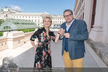Bergauf mit Cultour - Albertina, Wien - Do 10.06.2021 - Michael SCHADE, Ildiko RAIMONDI20