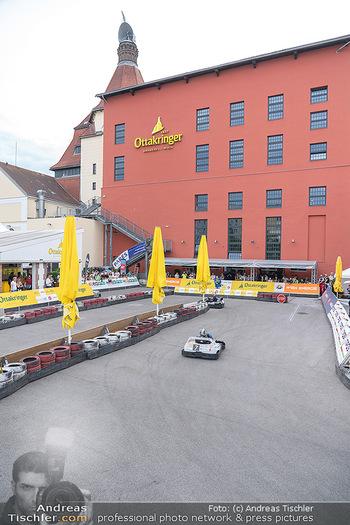 Art of Cart Formular Gastronomie - Ottakringer Brauerei, Wien - Sa 12.06.2021 - Blick auf die Rennstrecke, Rennbahn, Rennautos, Carts47