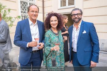 Mauro Maloberti Geburtstag - Pizzeria Regina Margherita, Wien - Mi 16.06.2021 - Ernst MINAR, Christina LUGNER, Mauro MALOBERTI4