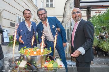 Mauro Maloberti Geburtstag - Pizzeria Regina Margherita, Wien - Mi 16.06.2021 - Mauro MALOBERTI, Luigi BARBARO junior und senior39