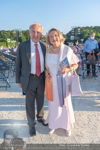 Sommernachtskonzert 2021 - Schönbrunn, Wien - Fr 18.06.2021 - Ewald und Ingrid NOWOTNY4