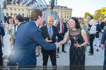 Sommernachtskonzert 2021 - Schönbrunn, Wien - Fr 18.06.2021 - Sebastian KURZ, Martin und Natalie KOCHER30