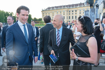 Sommernachtskonzert 2021 - Schönbrunn, Wien - Fr 18.06.2021 - Sebastian KURZ, Martin und Natalie KOCHER31